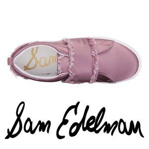 🆕 Sam Edelman Levine Satin Sneaker, new w/out box